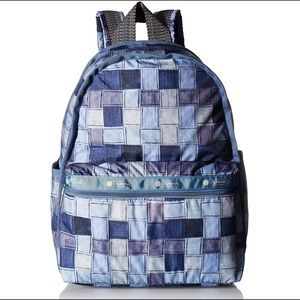 LeSportsac Basic Backpack in Carnaby Cool FIRM